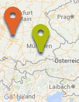 Karte zu LOVE Saunaclub in Münster