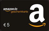 €5 Amazon Geschenkgutschein
