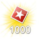 1000 Bewertungen