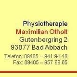 Physiotherapie Maximilian Otholt in Bad Abbach