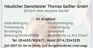 Häuslicher Dienstleister Thomas Geißler e.K. in Braunsbedra