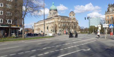 Das Hamburgische Verfassungsgericht in Hamburg
