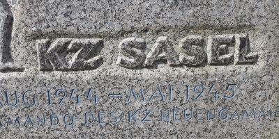 Gedenkstein KZ Sasel in Hamburg