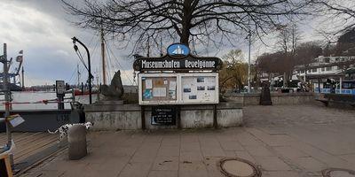 Elbstrand Oevelgönne/Neumühlen in Hamburg