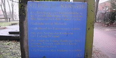 Ev.-Luth. Kirchengemeinde in St. Pauli Gnadenkirche Pastor Siegard Wilm in Hamburg