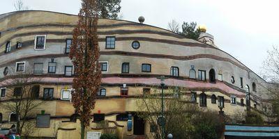 Die Waldspirale von Hundertwasser in Darmstadt