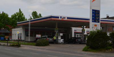 Elan Tankstelle in Buchholz in der Nordheide