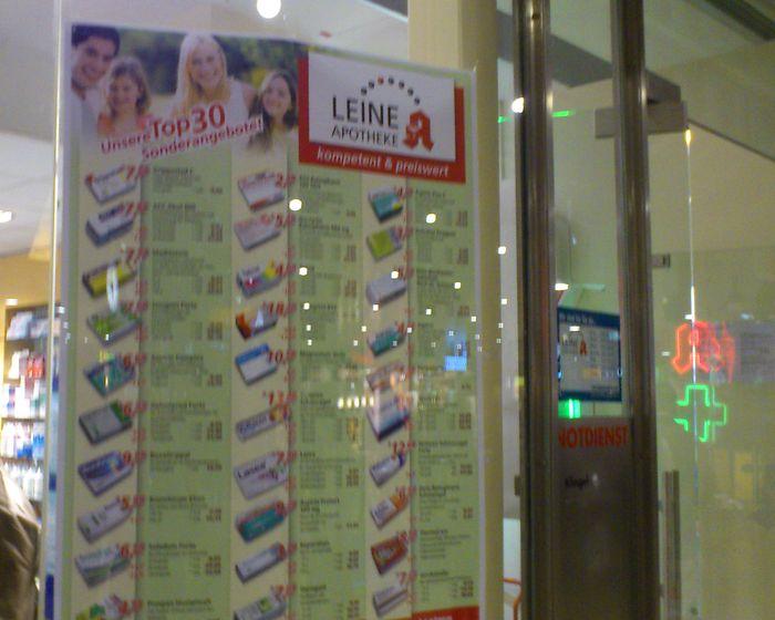 Bilder Und Fotos Zu Leine Apotheke Im Hauptbahnhof In Hannover