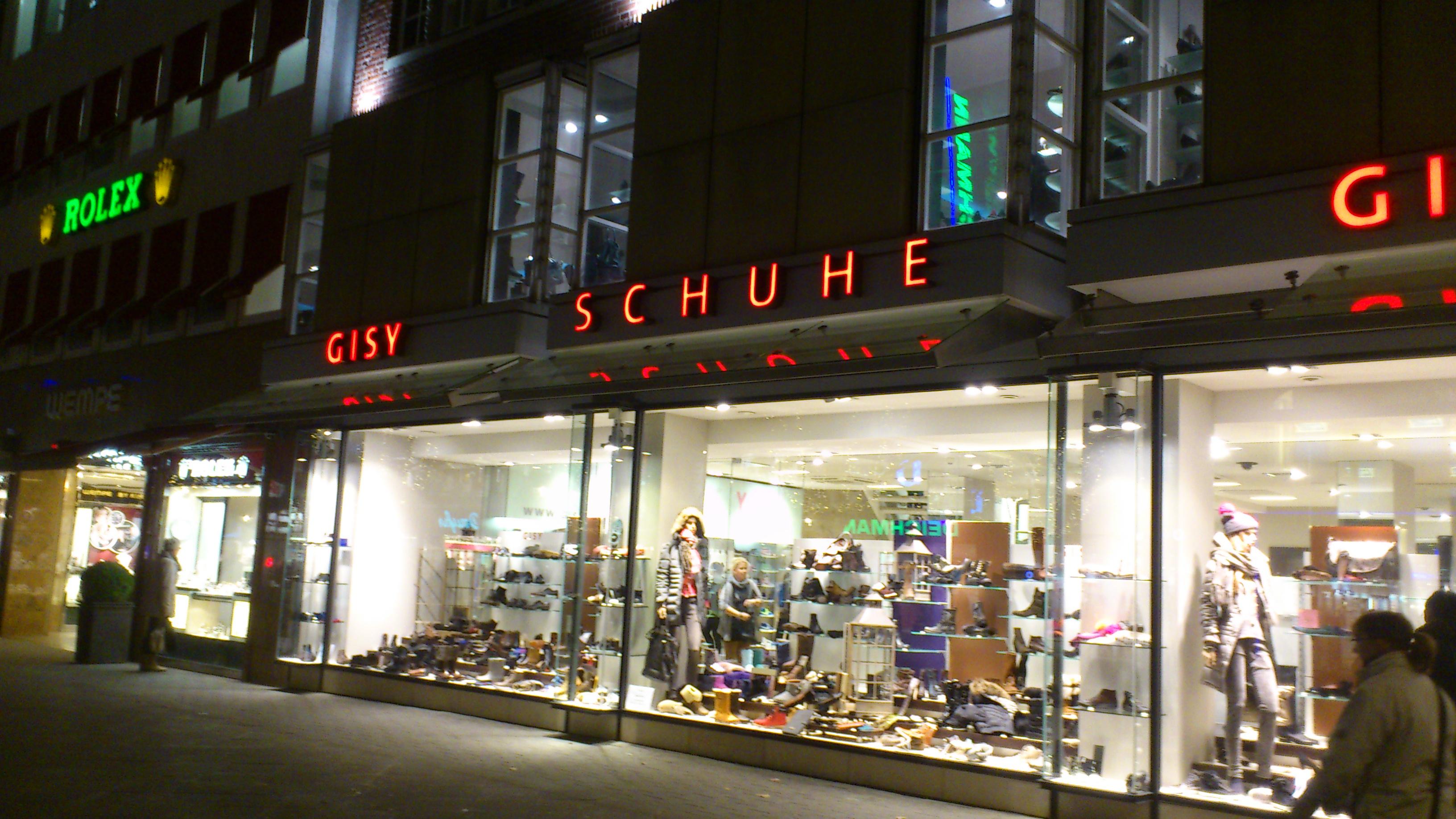 ed123418824933 ➤ Gisy Schuhe GmbH   Co. 30159 Hannover-Mitte Öffnungszeiten ...