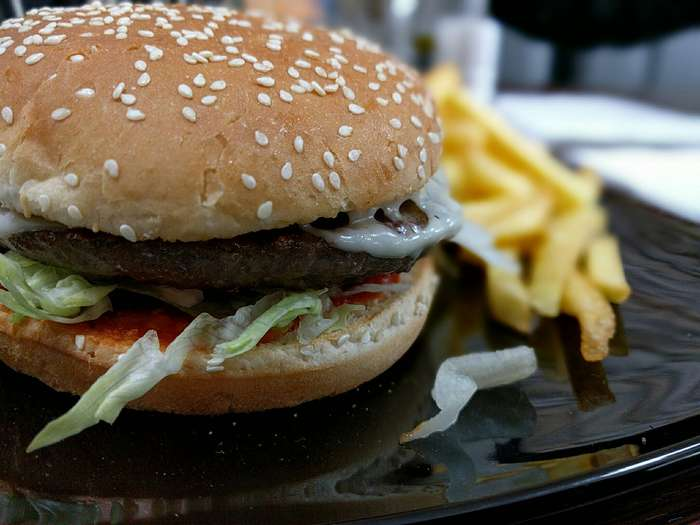 bewertung f r kebap burger house von knuspermark. Black Bedroom Furniture Sets. Home Design Ideas