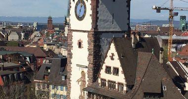 Schwabentor in Freiburg im Breisgau