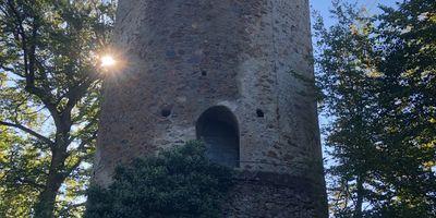 Ruine Zähringer Burg in Gundelfingen im Breisgau