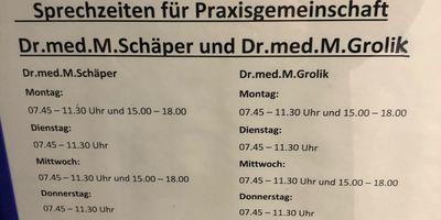 Grolik M. Dr.med. Facharzt für Orthopädie in Freiburg im Breisgau