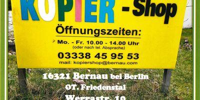 Kopiershop Bernau in Bernau bei Berlin