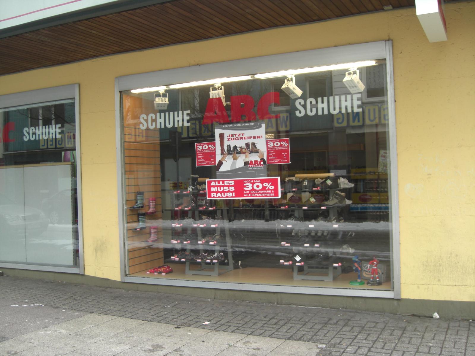 ➤ ABC Schuhe 44649 Herne Wanne Öffnungszeiten   Adresse