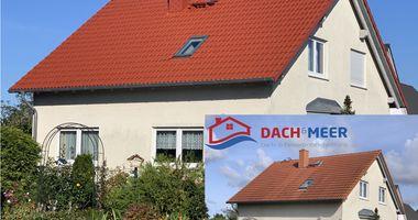 Dach und Meer in Rostock