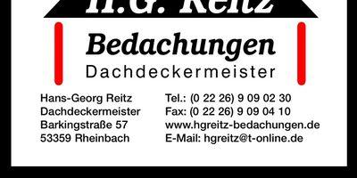 Reitz H.-G. Bedachungen in Merzbach Stadt Rheinbach