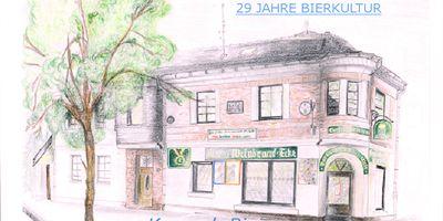 Bier und Weinbrandecke in Würselen