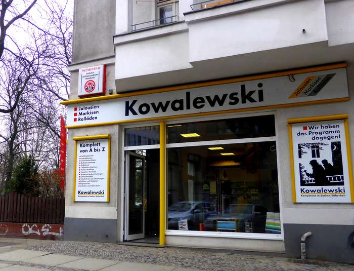 Bilder Und Fotos Zu Kowalewski Reinhard Jalousien Markisen