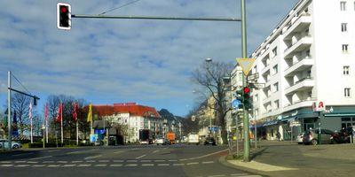 Theodor-Heuss-Platz in Berlin