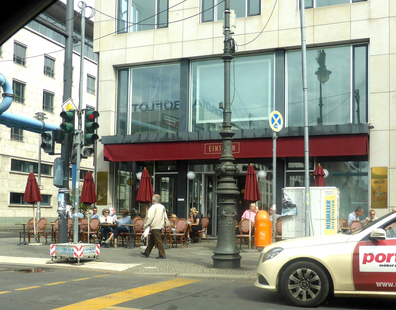 Café Einstein Cafés 10117 Berlin Mitte öffnungszeiten Adresse