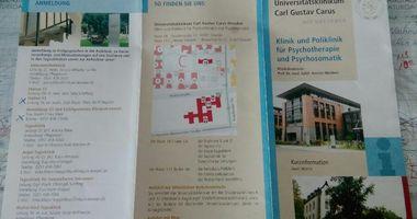 Universitätsklinikum Carl Gustav Carus, Klinik und Poliklinik für Psychotherapie und Psychosomatik, Medizinische Psychologie in Dresden