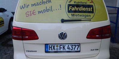 Fahrdienst Kohlbrei in Steinheim in Westfalen