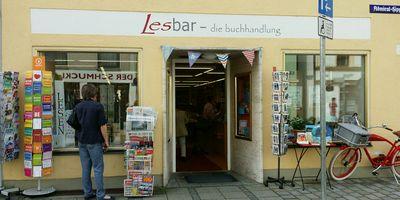 Lesbar Die Buchhandlung Susanne Barnsteiner in Weilheim in Oberbayern