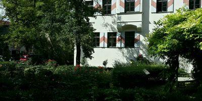 Rosengarten in Weilheim in Oberbayern
