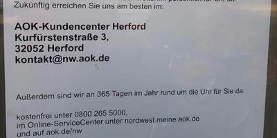 AOK NordWest - Die Gesundheitskasse Bad Salzuflen in Schötmar Stadt Bad Salzuflen