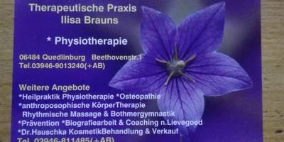Brauns Ilisa Therapeutische Praxis in Quedlinburg