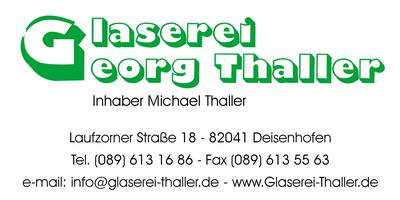 Glaserei Georg Thaller in Oberhaching