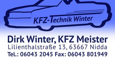 Kfz-Technik Winter in Nidda