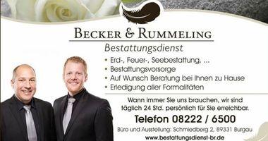 Bestattungsdienst Becker&Rummeling in Burgau in Schwaben