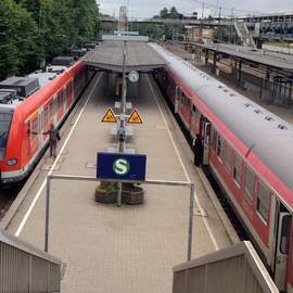Bahnhof Backnang in Backnang