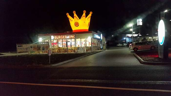 Bilder und fotos zu burger king am autohof metternich in for Garten eden koblenz