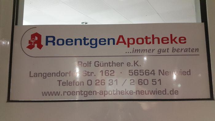 Roentgen Apotheke Linda 1 Bewertung Neuwied Langendorfer