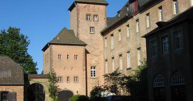 Salvatorianer Kloster Pfarramt Steinfeld in Kall