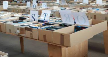 Lions-Club Bücherbasar in Mayen