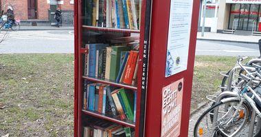 Öffentlicher Bücherschrank von Lions in Koblenz am Rhein