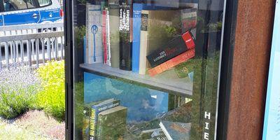 Öffentlicher Bücherschrank in Mayen
