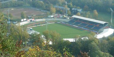 Stadion Oberwerth in Koblenz am Rhein