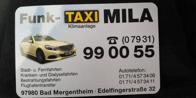 Trifunovic Mila Taxiunternehmen in Bad Mergentheim