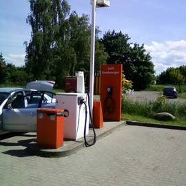 TOTAL Tankstelle in Barth