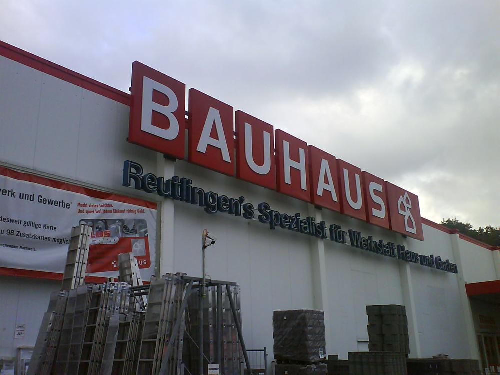Bauhaus Gmbh Cokg 72760 Reutlingen Nordstadt