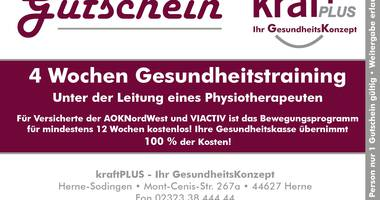 kraft PLUS Physiotherapie in Herne