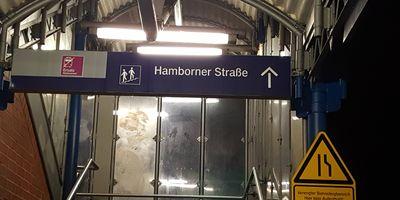 Bahnhof Düsseldorf - Unterrath in Düsseldorf