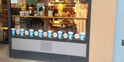 Tchibo Filiale mit Kaffee Bar in Göttingen