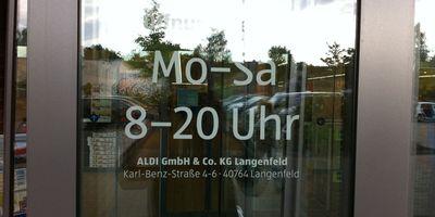 ALDI Süd in Langenfeld im Rheinland