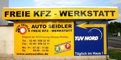 Seidler Ralf Freie KFZ-Werkstatt in Dessau Stadt Dessau-Roßlau